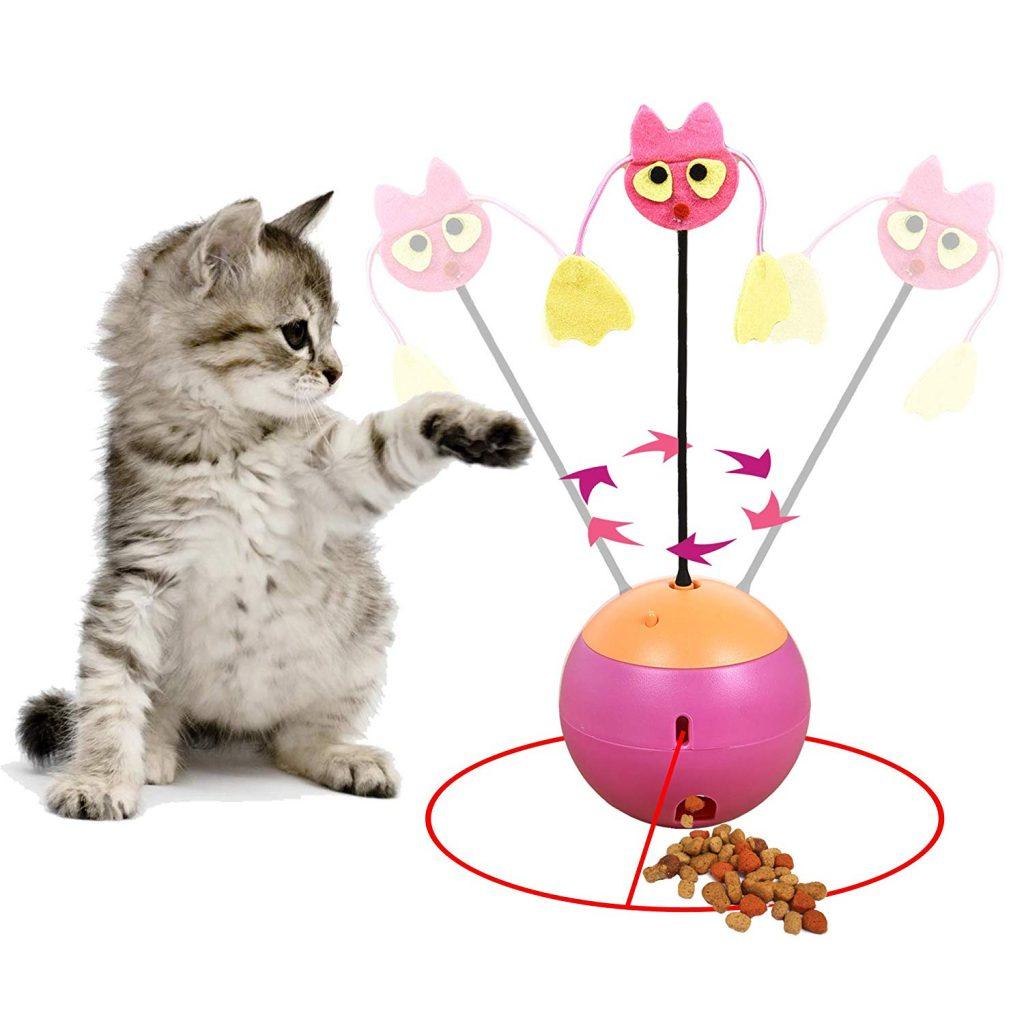 juguetes para gatos caseros